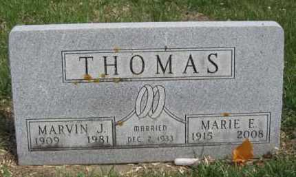 THOMAS, MARVIN J - Moody County, South Dakota | MARVIN J THOMAS - South Dakota Gravestone Photos