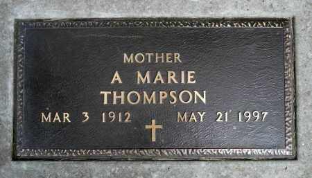 THOMPSON, A. MARIE - Moody County, South Dakota   A. MARIE THOMPSON - South Dakota Gravestone Photos