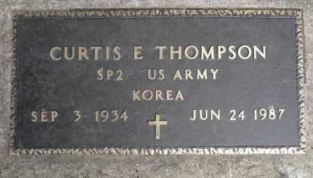 THOMPSON, CURTIS E. (KOREA) - Moody County, South Dakota | CURTIS E. (KOREA) THOMPSON - South Dakota Gravestone Photos