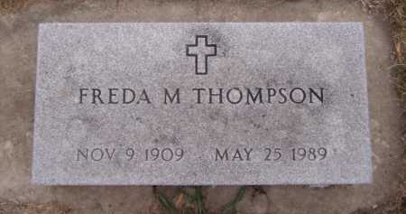 THOMPSON, FREDA M - Moody County, South Dakota | FREDA M THOMPSON - South Dakota Gravestone Photos