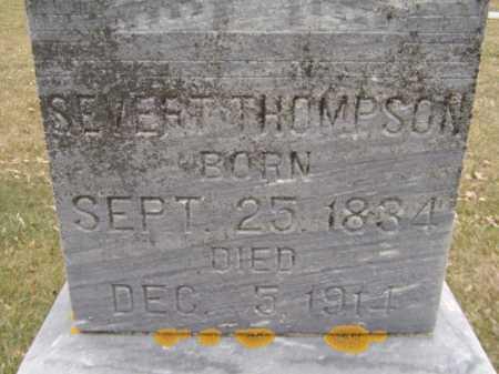 THOMPSON, SEVERT (CLOSEUP) - Moody County, South Dakota   SEVERT (CLOSEUP) THOMPSON - South Dakota Gravestone Photos