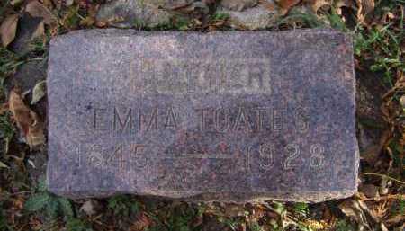 TOATES, EMMA - Moody County, South Dakota | EMMA TOATES - South Dakota Gravestone Photos