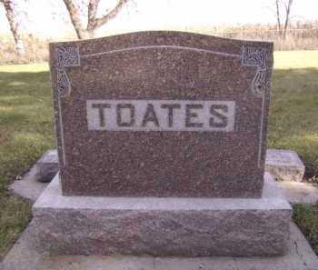 TOATES, FAMILY - Moody County, South Dakota   FAMILY TOATES - South Dakota Gravestone Photos