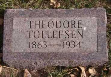 TOLLEFSEN, THEODORE - Moody County, South Dakota | THEODORE TOLLEFSEN - South Dakota Gravestone Photos