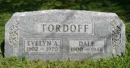 TORDOFF, EVELYN A. - Moody County, South Dakota | EVELYN A. TORDOFF - South Dakota Gravestone Photos