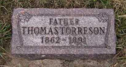 TORRESON, THOMAS - Moody County, South Dakota | THOMAS TORRESON - South Dakota Gravestone Photos