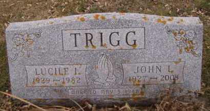 GJERE TRIGG, LUCILE I - Moody County, South Dakota | LUCILE I GJERE TRIGG - South Dakota Gravestone Photos