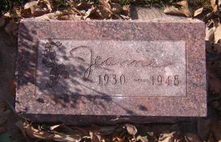 TROTTMAN, LOIS JEANNE - Moody County, South Dakota | LOIS JEANNE TROTTMAN - South Dakota Gravestone Photos