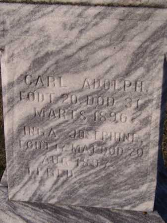 HELGESEN, CARL ADOLPH (CLOSEUP) - Moody County, South Dakota | CARL ADOLPH (CLOSEUP) HELGESEN - South Dakota Gravestone Photos