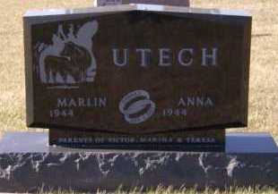 UTECH, ANNA - Moody County, South Dakota | ANNA UTECH - South Dakota Gravestone Photos