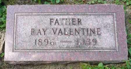 VALENTINE, RAY - Moody County, South Dakota | RAY VALENTINE - South Dakota Gravestone Photos