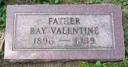 VALENTINE, RAY - Moody County, South Dakota | RAY VALENTINE - South Dakota Gravestone Photos