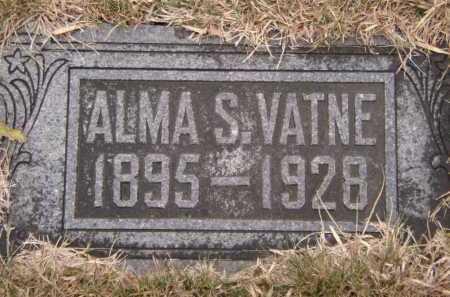 VATNE, ALMA SOPHIE - Moody County, South Dakota | ALMA SOPHIE VATNE - South Dakota Gravestone Photos