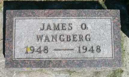WANGBERG, JAMES O. - Moody County, South Dakota | JAMES O. WANGBERG - South Dakota Gravestone Photos