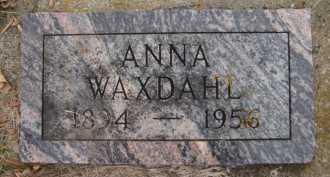 WAXDAHL, ANNA - Moody County, South Dakota | ANNA WAXDAHL - South Dakota Gravestone Photos