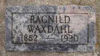HONSE WAXDAHL, RAGNILD - Moody County, South Dakota | RAGNILD HONSE WAXDAHL - South Dakota Gravestone Photos