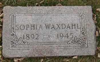 WAXDAHL, SOPHIA - Moody County, South Dakota | SOPHIA WAXDAHL - South Dakota Gravestone Photos
