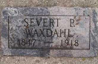 WAXDAHL, SEVERT P - Moody County, South Dakota | SEVERT P WAXDAHL - South Dakota Gravestone Photos