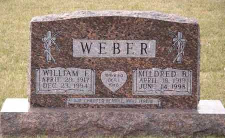 WEBER, MILDRED B - Moody County, South Dakota | MILDRED B WEBER - South Dakota Gravestone Photos