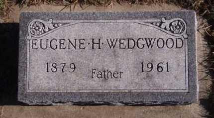 WEDGWOOD, EUGENE H - Moody County, South Dakota | EUGENE H WEDGWOOD - South Dakota Gravestone Photos