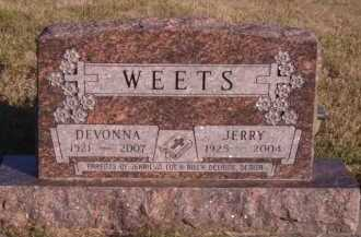WEETS, DEVONNA - Moody County, South Dakota | DEVONNA WEETS - South Dakota Gravestone Photos