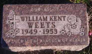 WEETS, WILLIAM KENT - Moody County, South Dakota | WILLIAM KENT WEETS - South Dakota Gravestone Photos