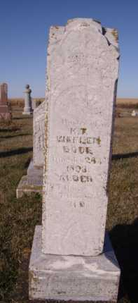 WEFLEN, K T - Moody County, South Dakota | K T WEFLEN - South Dakota Gravestone Photos