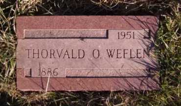 WEFLEN, THORVALD O - Moody County, South Dakota | THORVALD O WEFLEN - South Dakota Gravestone Photos