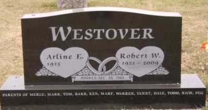 WESTOVER, ROBERT W - Moody County, South Dakota | ROBERT W WESTOVER - South Dakota Gravestone Photos