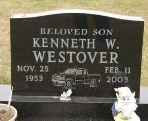 WESTOVER, KENNETH W - Moody County, South Dakota | KENNETH W WESTOVER - South Dakota Gravestone Photos