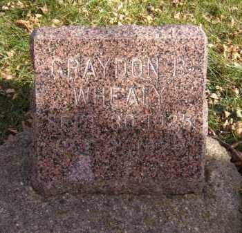WHEALY, GRAYDON B - Moody County, South Dakota | GRAYDON B WHEALY - South Dakota Gravestone Photos