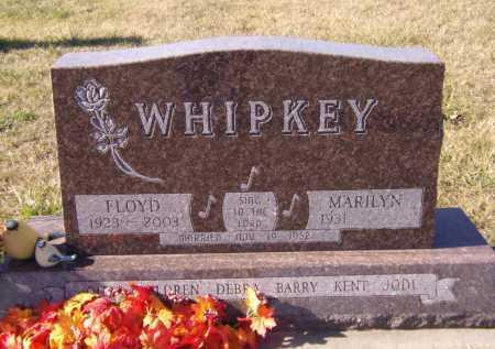 WHIPKEY, FLOYD - Moody County, South Dakota | FLOYD WHIPKEY - South Dakota Gravestone Photos