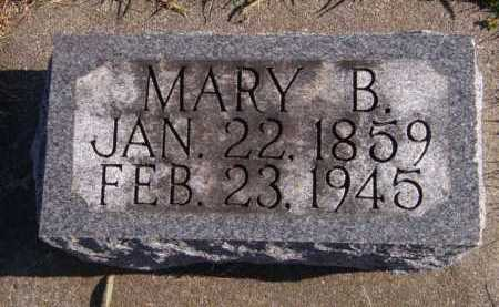 WHIPKEY, MARY B - Moody County, South Dakota | MARY B WHIPKEY - South Dakota Gravestone Photos