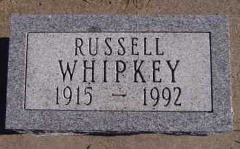 WHIPKEY, RUSSELL - Moody County, South Dakota | RUSSELL WHIPKEY - South Dakota Gravestone Photos