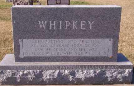 WHIPKEY, VIRGIL K (BACK) - Moody County, South Dakota | VIRGIL K (BACK) WHIPKEY - South Dakota Gravestone Photos