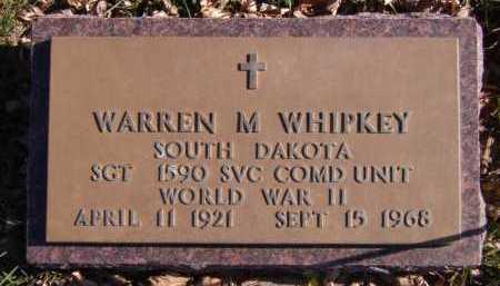 WHIPKEY, WARREN M (MILITARY) - Moody County, South Dakota | WARREN M (MILITARY) WHIPKEY - South Dakota Gravestone Photos