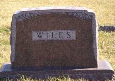 WILES, FAMILY - Moody County, South Dakota   FAMILY WILES - South Dakota Gravestone Photos