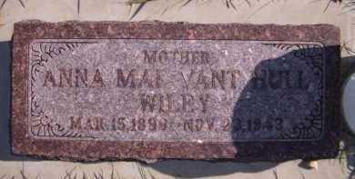 VANT HUL WILEY, ANNA MAE - Moody County, South Dakota | ANNA MAE VANT HUL WILEY - South Dakota Gravestone Photos
