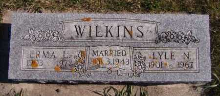WILKINS, ERMA L - Moody County, South Dakota | ERMA L WILKINS - South Dakota Gravestone Photos