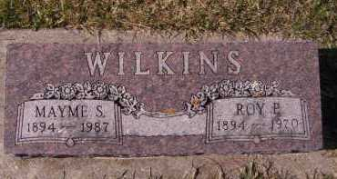 WILKINS, MAYME S - Moody County, South Dakota | MAYME S WILKINS - South Dakota Gravestone Photos