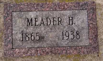 WILKINS, MEADER H - Moody County, South Dakota | MEADER H WILKINS - South Dakota Gravestone Photos