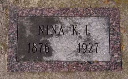 WILKINS, NINA K I - Moody County, South Dakota | NINA K I WILKINS - South Dakota Gravestone Photos