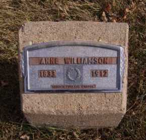 WILLIAMSON, ANNE - Moody County, South Dakota | ANNE WILLIAMSON - South Dakota Gravestone Photos
