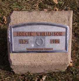 WILLIAMSON, JORGEN - Moody County, South Dakota | JORGEN WILLIAMSON - South Dakota Gravestone Photos