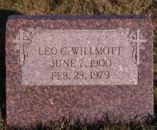 WILLMOTT, LEO G - Moody County, South Dakota | LEO G WILLMOTT - South Dakota Gravestone Photos