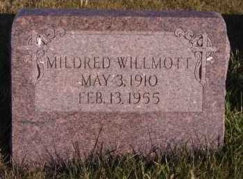 WILLMOTT, MILDRED - Moody County, South Dakota | MILDRED WILLMOTT - South Dakota Gravestone Photos