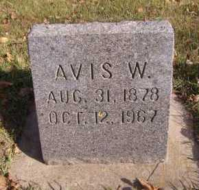 WINKLEPECK, AVIS W - Moody County, South Dakota | AVIS W WINKLEPECK - South Dakota Gravestone Photos