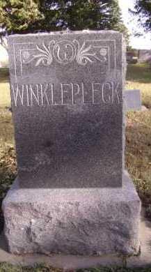 WINKLEPECK, FAMILY - Moody County, South Dakota | FAMILY WINKLEPECK - South Dakota Gravestone Photos