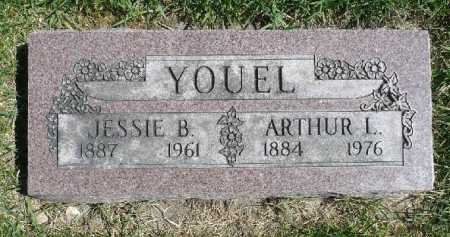 YOUEL, JESSIE B - Moody County, South Dakota | JESSIE B YOUEL - South Dakota Gravestone Photos