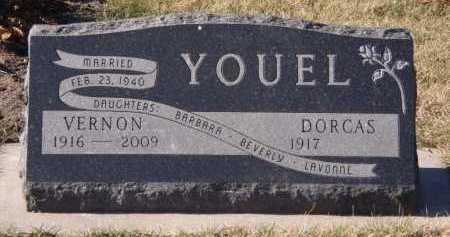 YOUEL, DORCAS - Moody County, South Dakota | DORCAS YOUEL - South Dakota Gravestone Photos